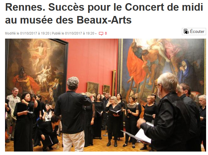revue de presse 2017 Ouest France Web