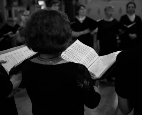 ensemble vocal resonance, choriste dos