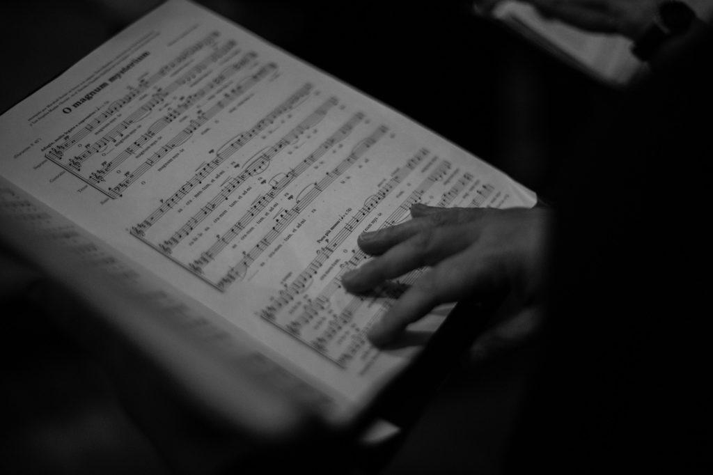 ensemble vocal resonance, partition